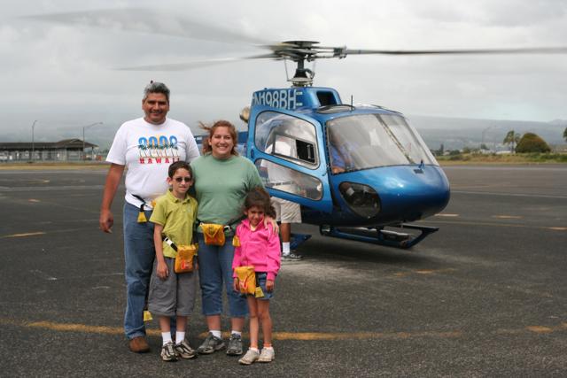 Blue Hawaiian Family