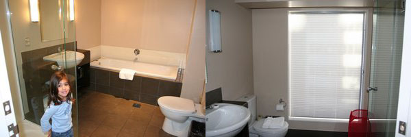 Bolton Hotel Bathrooms